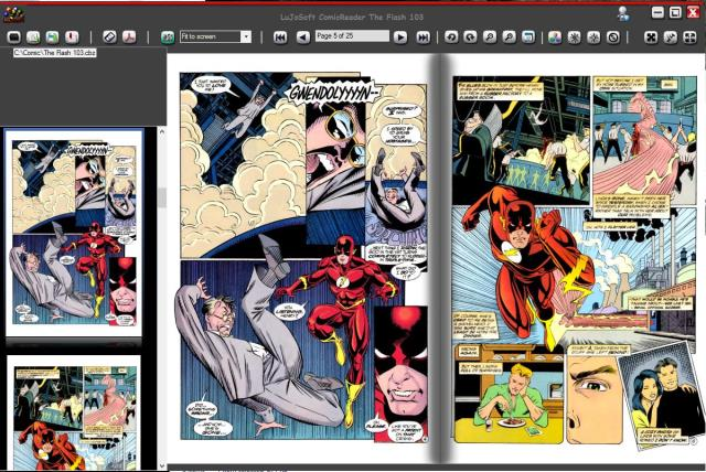 Click to view LuJoSoft ComicReader 1.0.0.43 screenshot
